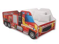 Detská posteľ Truck AUTO 140x70 Požiarnici
