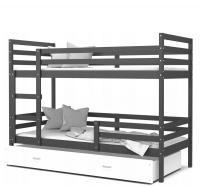 Drevená detská posteľ JACEK COLOR 190x80