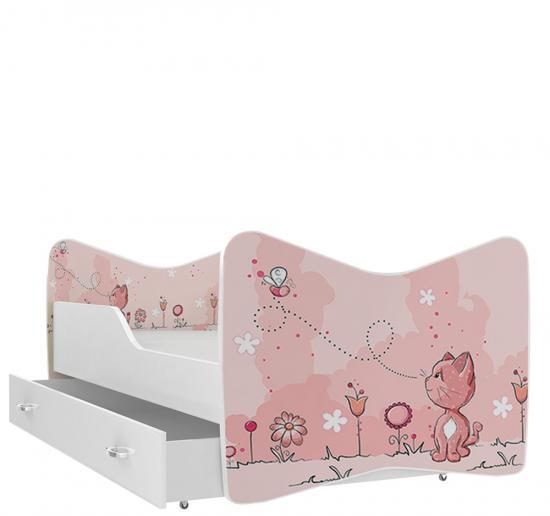 Rozprávková detská posteľ KEVIN 180x80