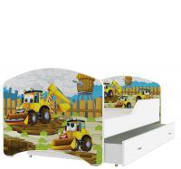 Detská posteľ IGOR 140x80 Rozprávkové vzory