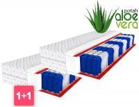 Taštičkový matrac TREVISO 9 zónový 1+1 ALOE VERA