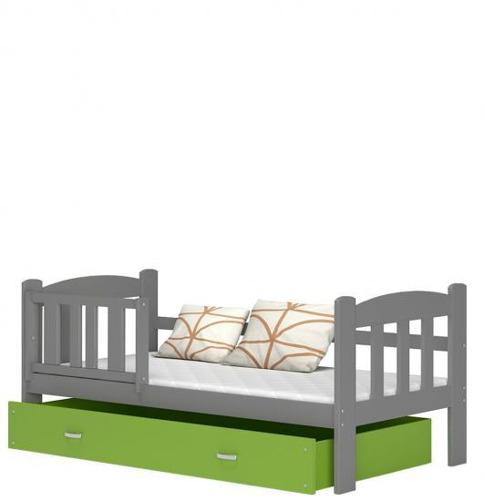 Detská posteľ Alan 160x70 farebný šuplík