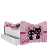 Rozprávková detská posteľ KEVIN 160x80